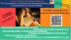 Inauguramos el aula de Orientación Educativa para estudiantes de la UNPSJB